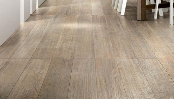Parquet imitation beton for Carrelage aspect bois